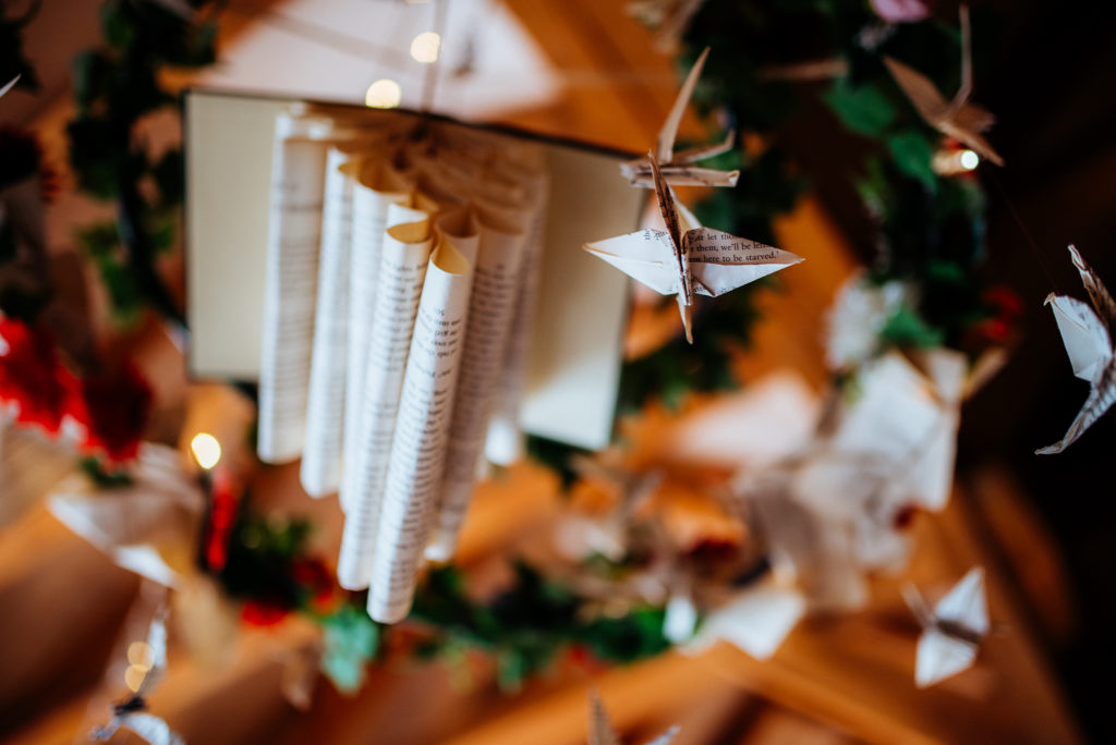 Kent wedding photographer The Ferry House Inn Harty Creative wedding Magical themed wedding DIY wedding crafts book themed Harry Potter Lord of the Rings Pandemic planning