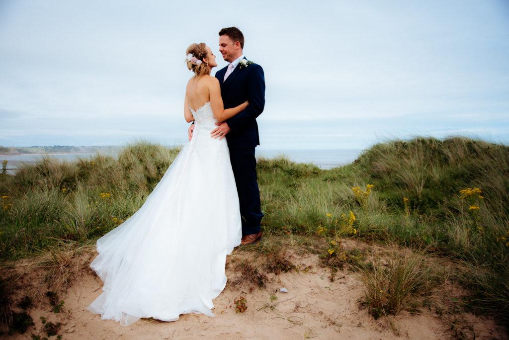 coastal wedding on the beach