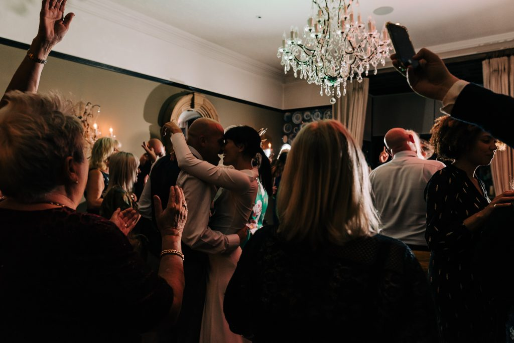 wedding party at Glazebrook house, wedding planning in a pandemic