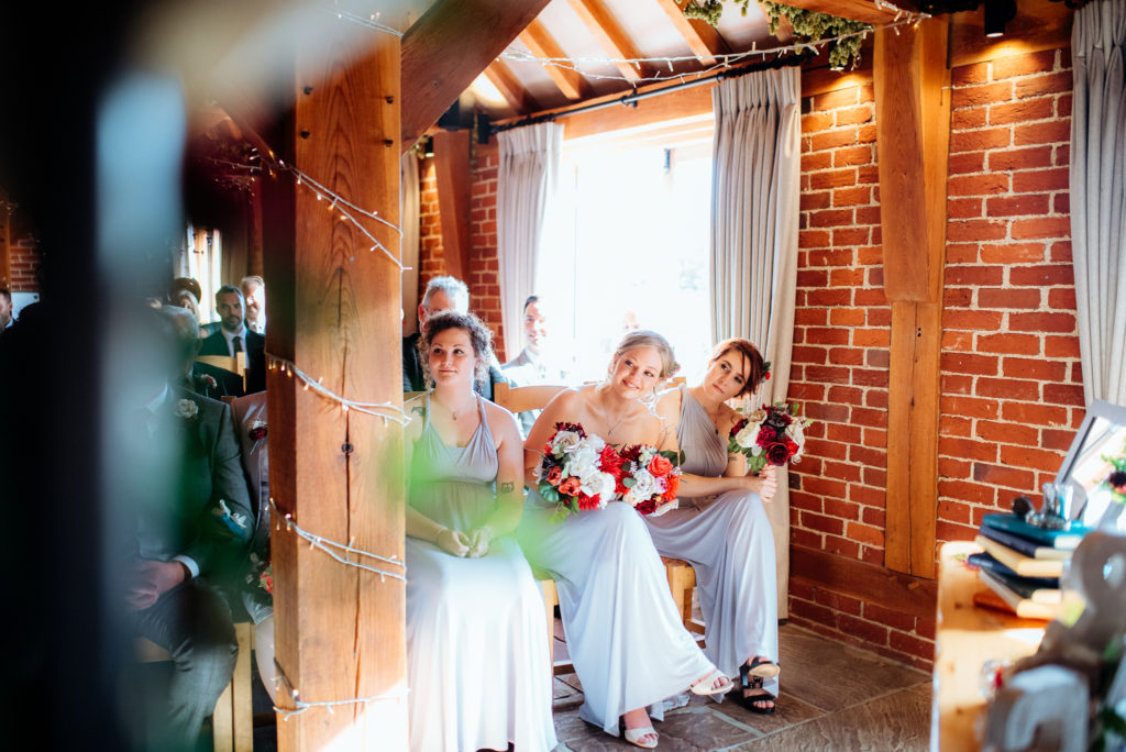 Kent wedding photographer The Ferry House Inn Harty Creative wedding Magical themed wedding DIY wedding crafts book themed Harry Potter Lord of the Rings wedding ceremony