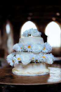 St Mary's Arts Centre Sandwich table decorations Dover wedding Kent wedding DIY decor creative wedding homemade wedding cake