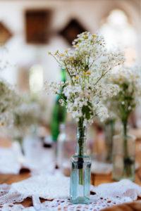St Mary's Arts Centre Sandwich table decorations Dover wedding Kent wedding DIY decor creative wedding flowers bouquet