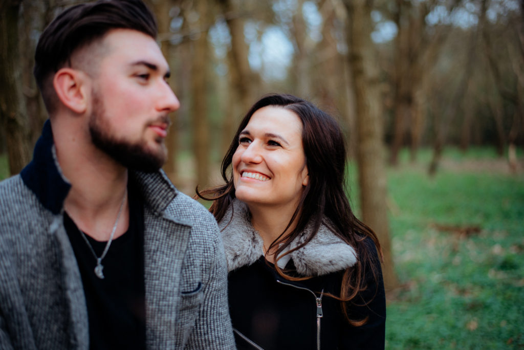 Chantries engagement photoshoot Guildford