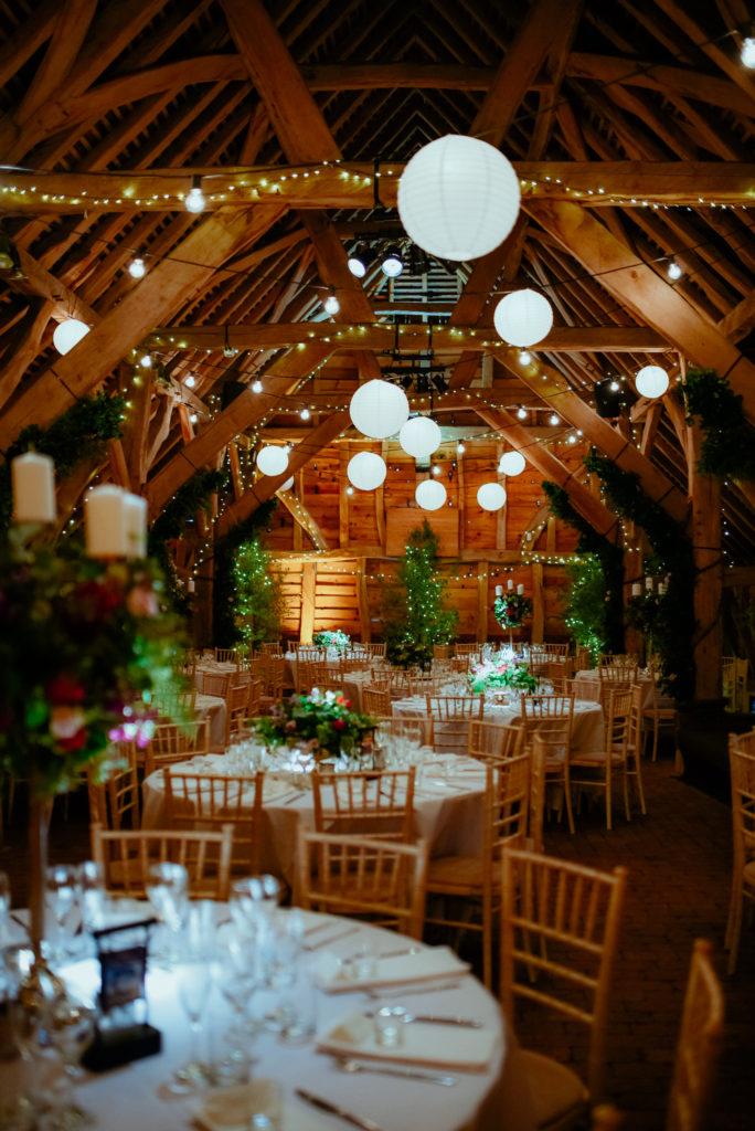 amazing wedding venue decoration