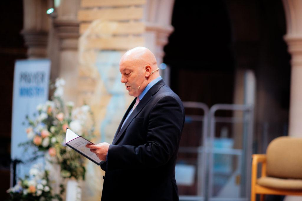 pastors talk on wedding day