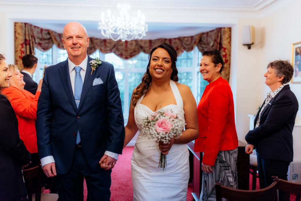 new husband and wife