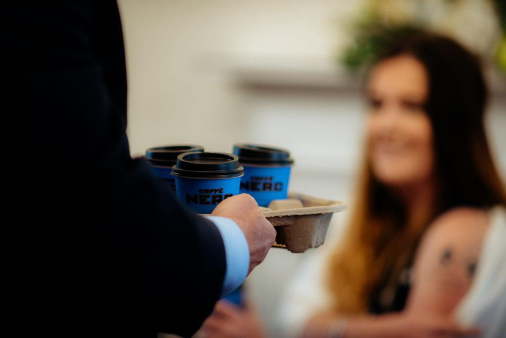 wedding coffee