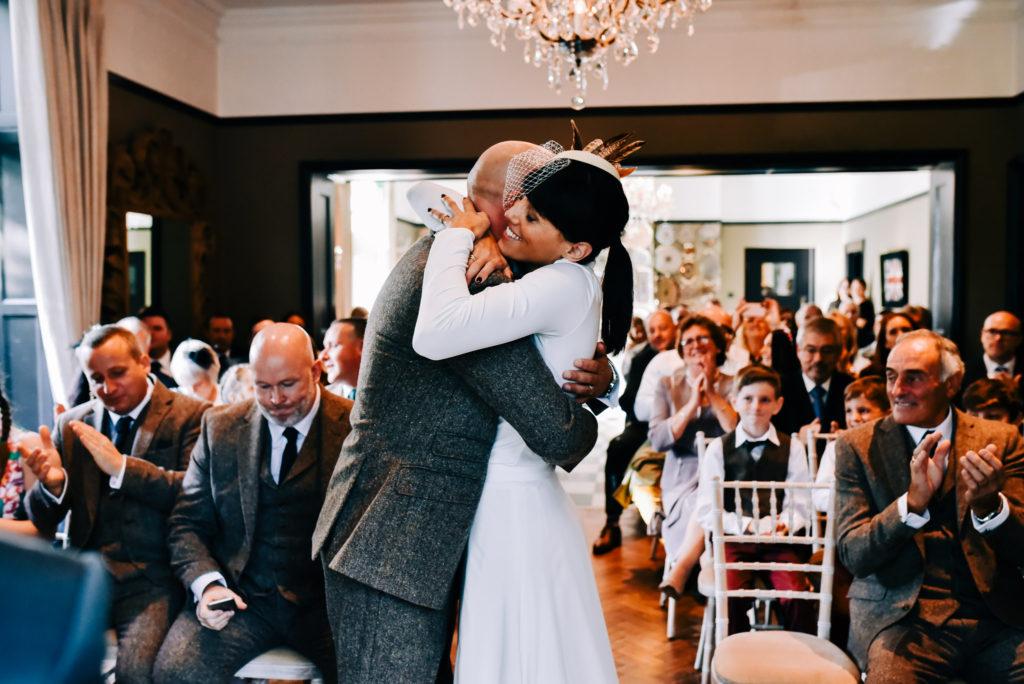 Just married joy