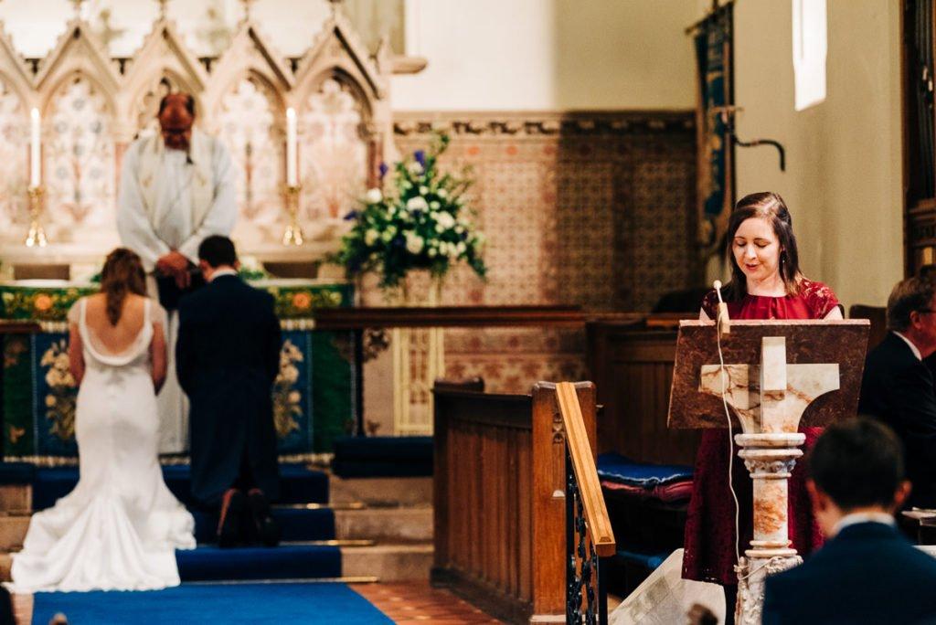 Church ceremony prayers and readings