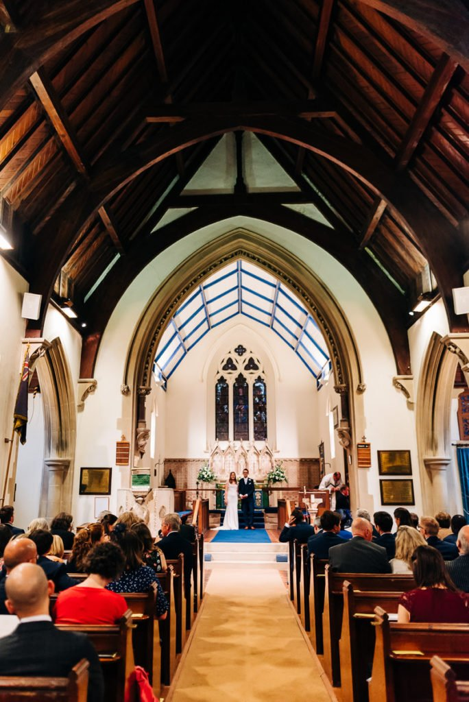 St Marys church wedding ceremony
