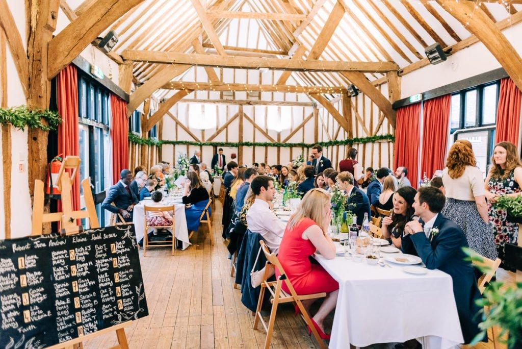 Bore Place eco friendly wedding venue
