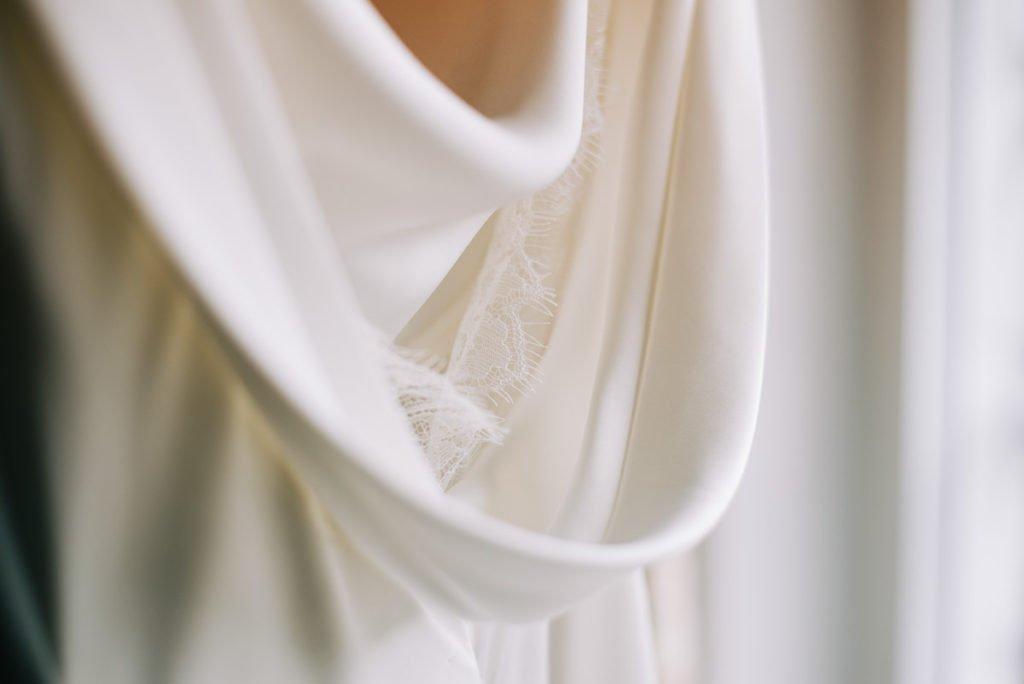 Sustainable eco wedding dress