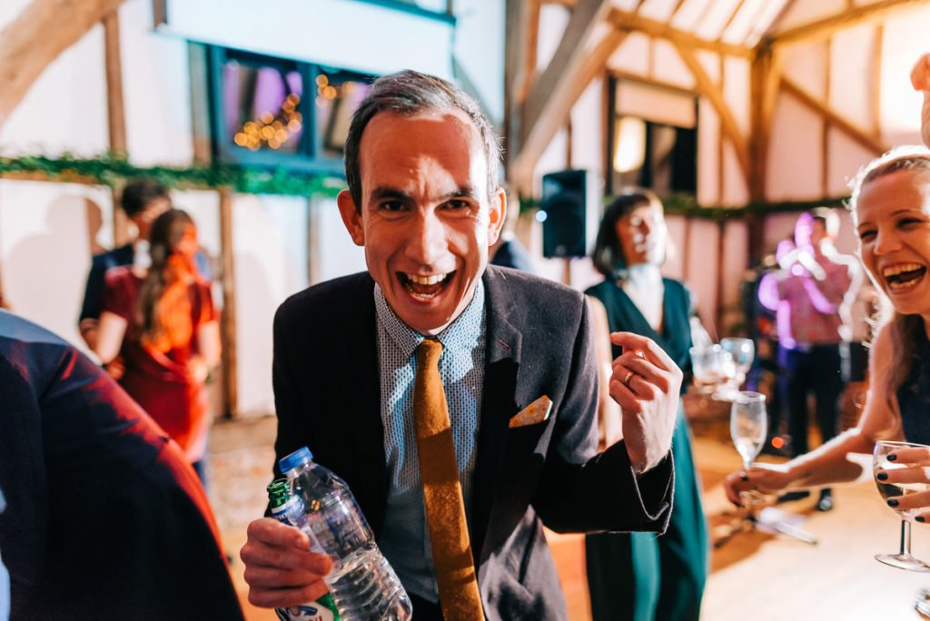 Drunk wedding guests hilarious dancing