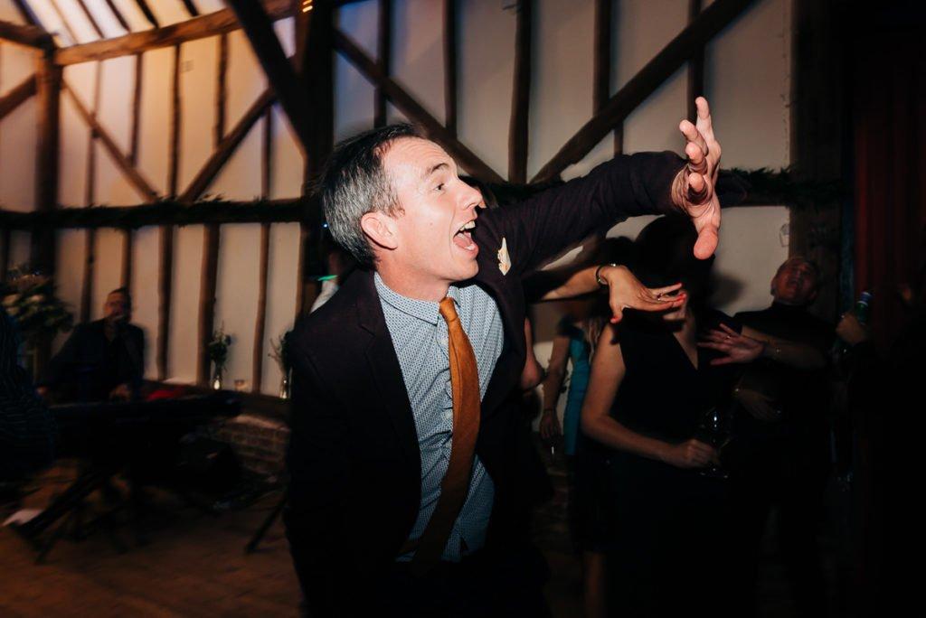 Guests having fun on the dancefloor