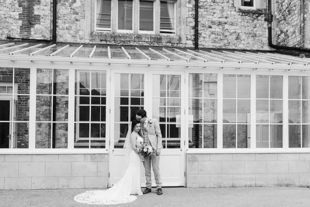 Mr and Mrs couples photographs at Froyle Park