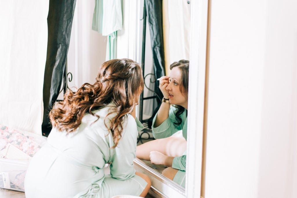 Bridesmaids preparations
