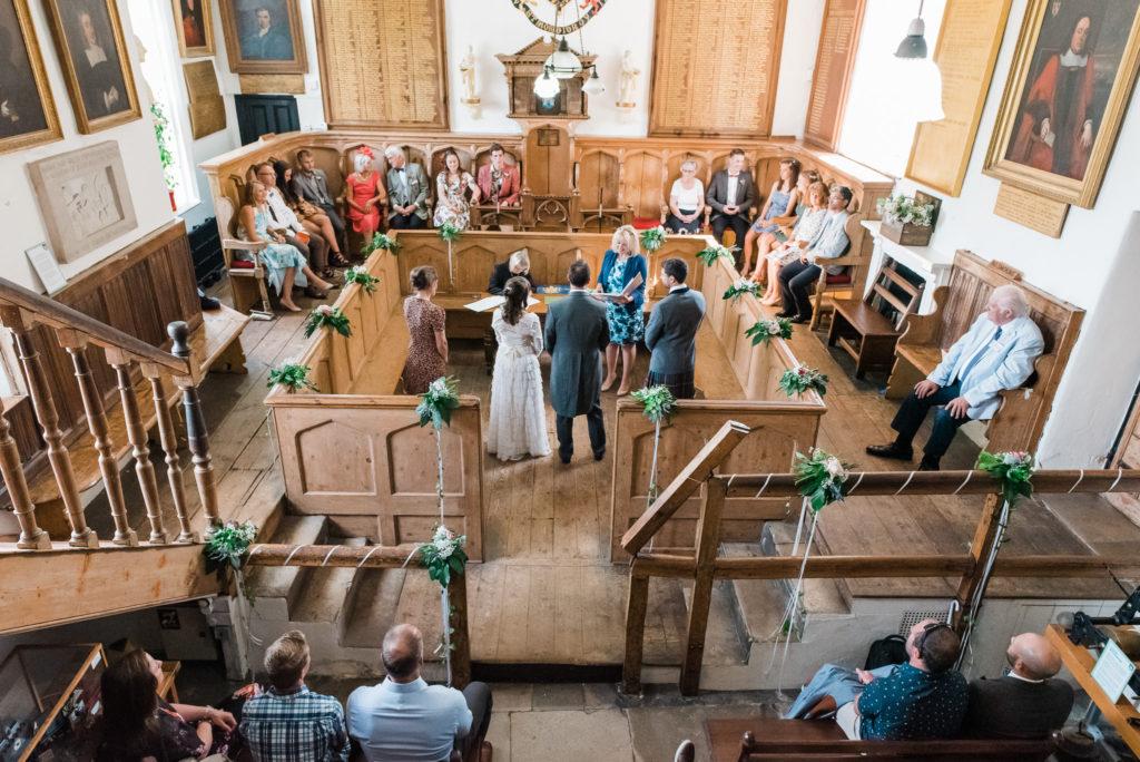 Totnes Guildhall wedding ceremony