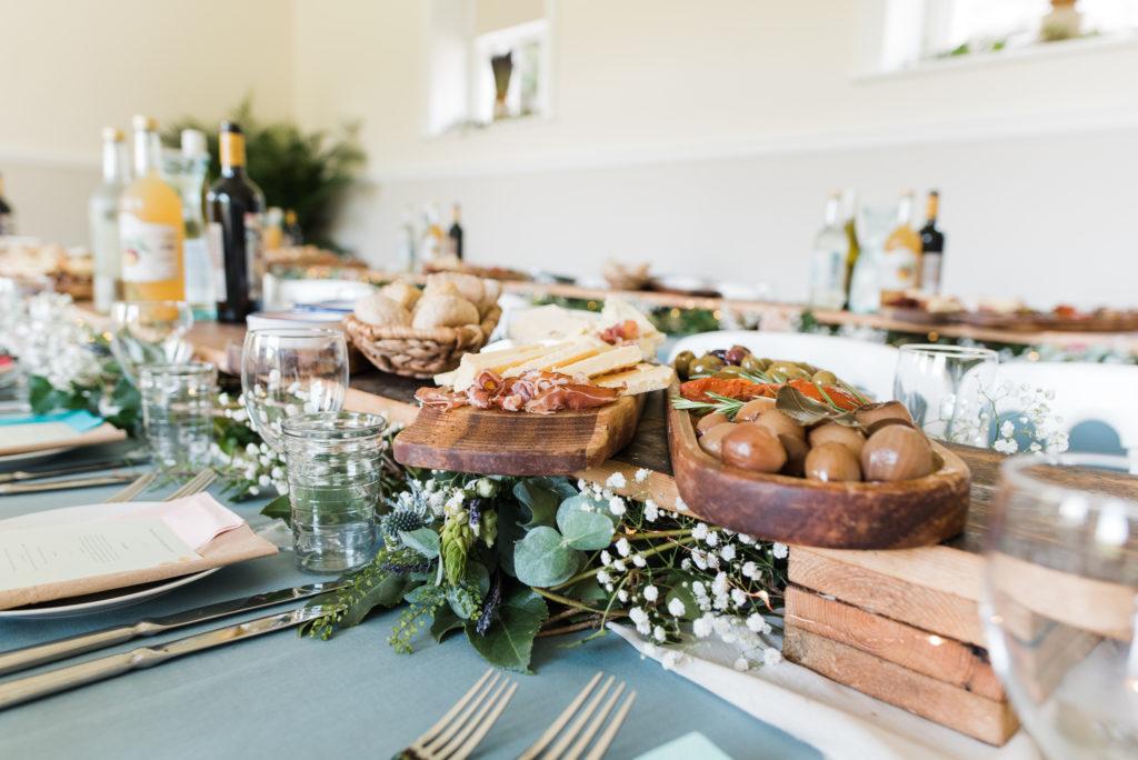 Delicious organic wedding food Totnes