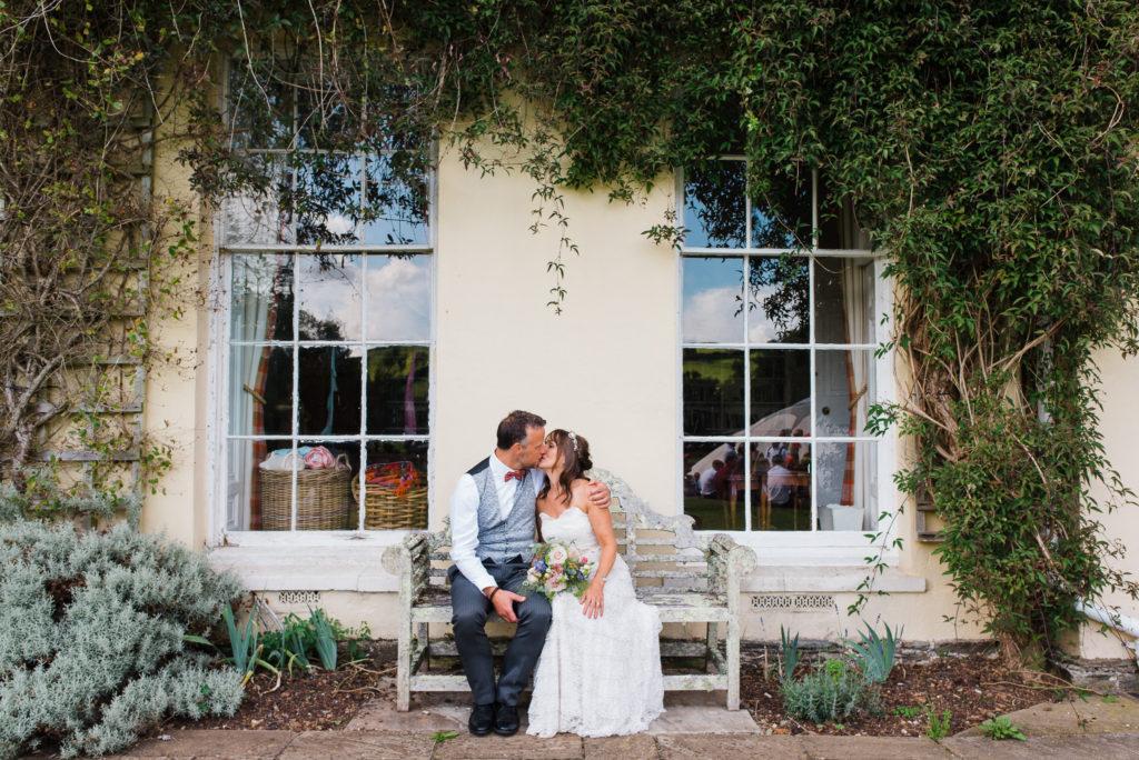 Sandwell Manor Totnes wedding photographs