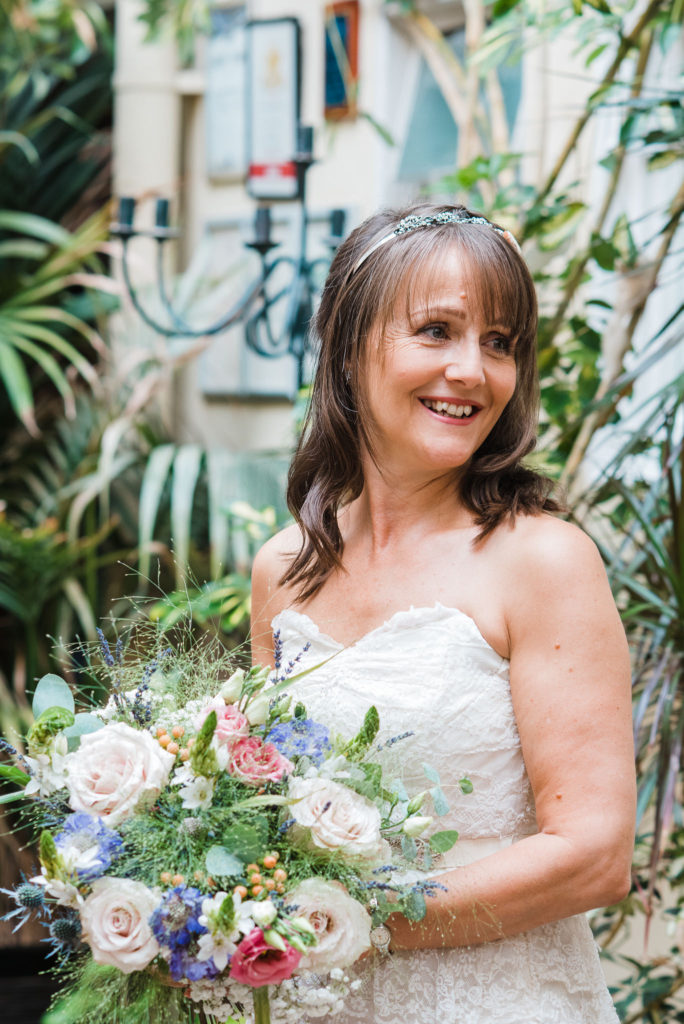 Boho Bride at Seven Stars in Guildford