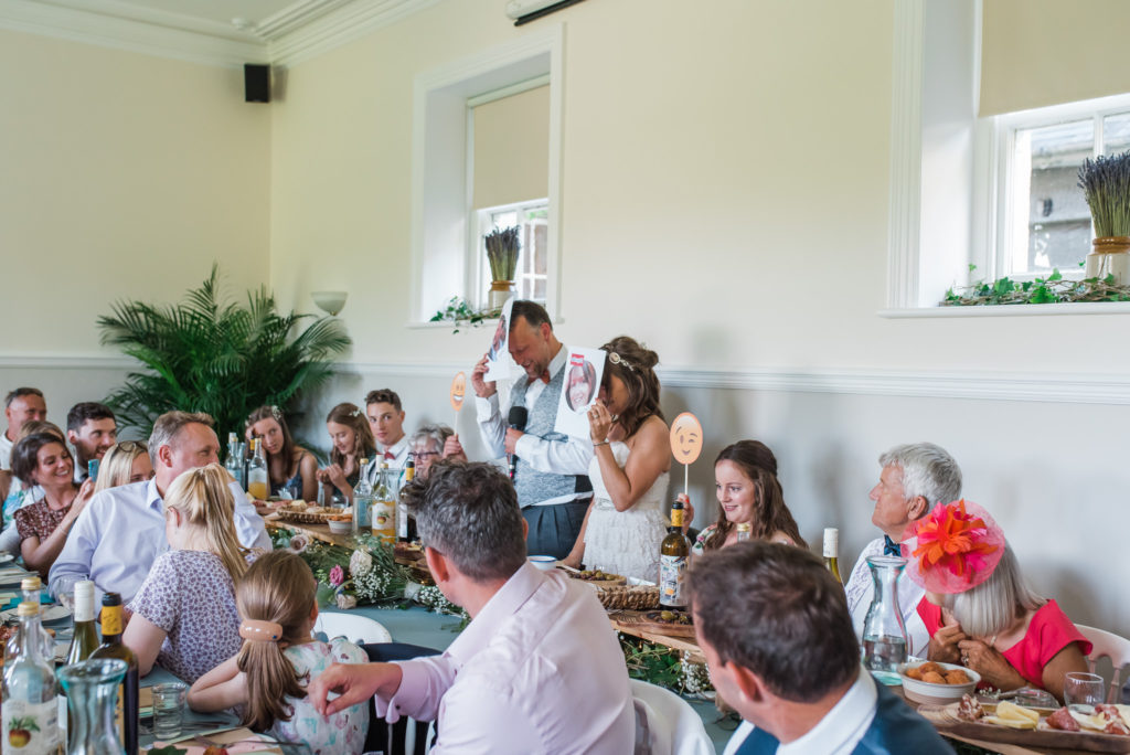 Funny joint bride and groom speech
