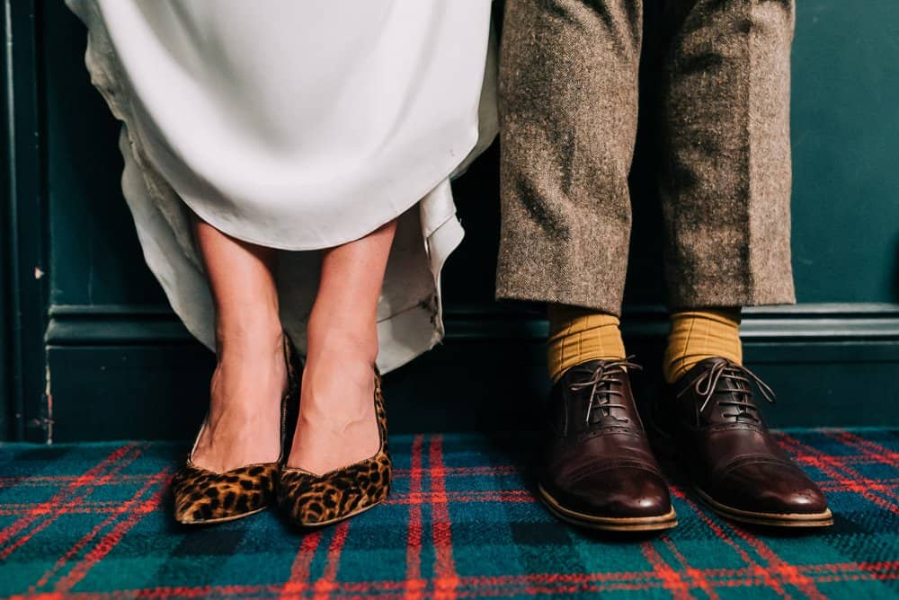 Quirky wedding accessories