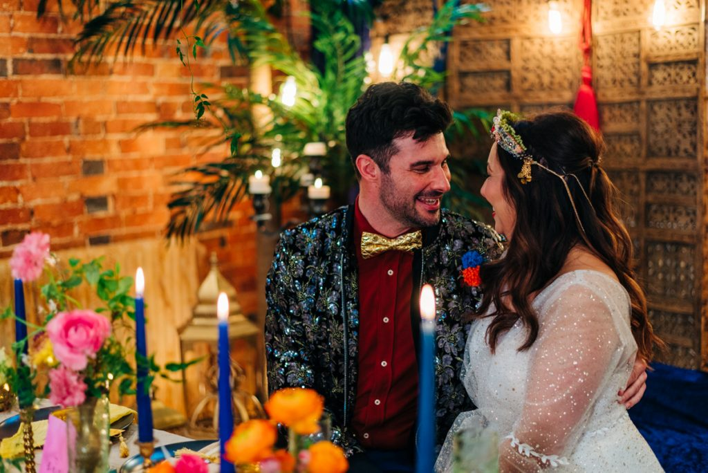 vibrant wedding photography