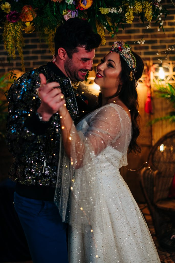 twinkly wedding
