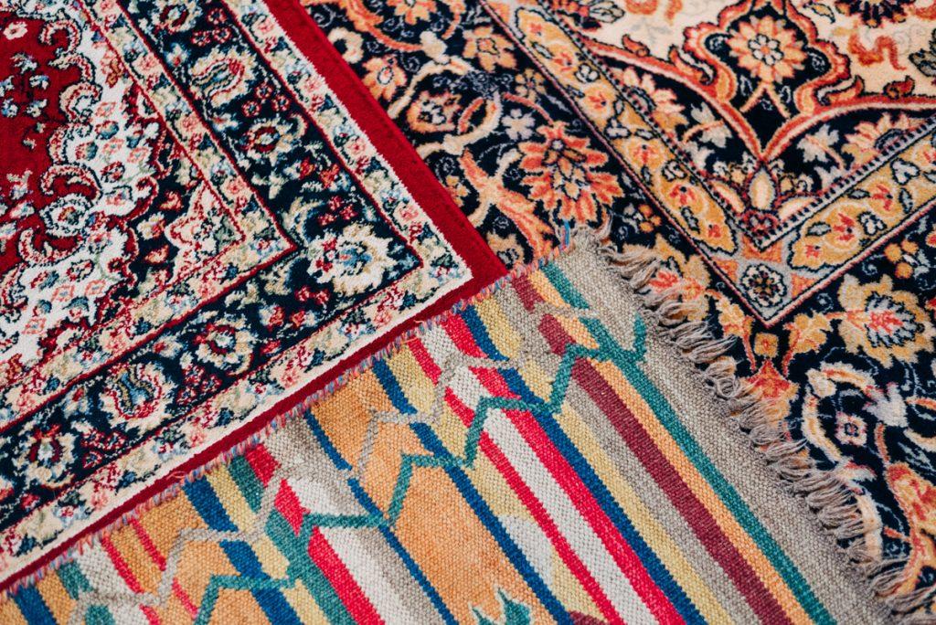 Moroccan rugs wedding
