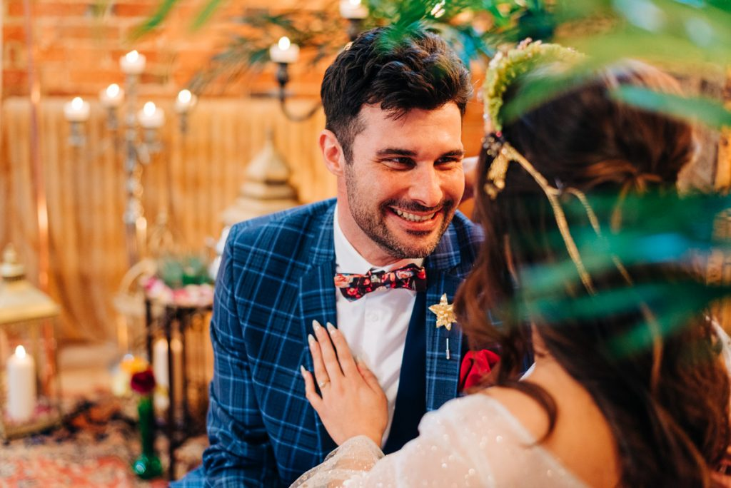 quirky groom suit
