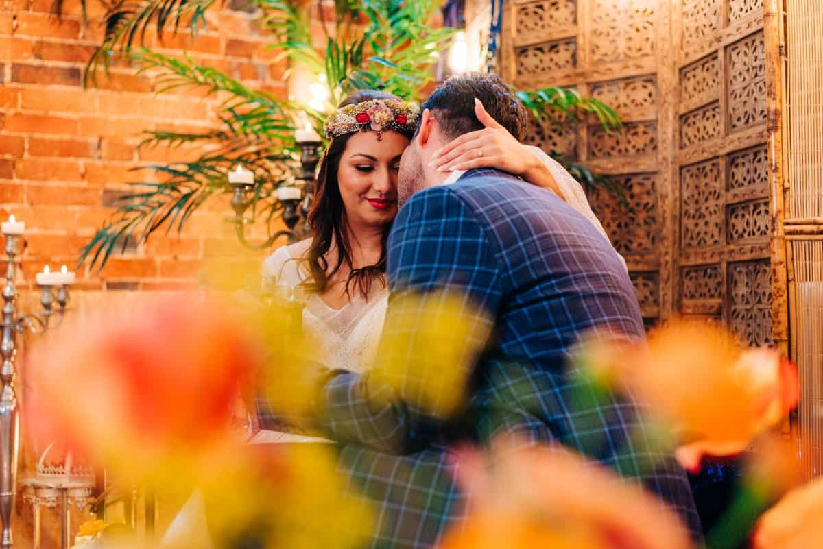 colourful Moroccan wedding