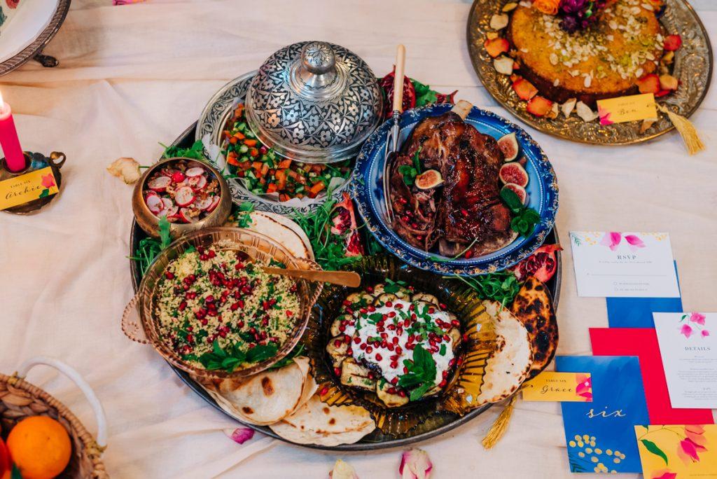 moroccan wedding breakfast