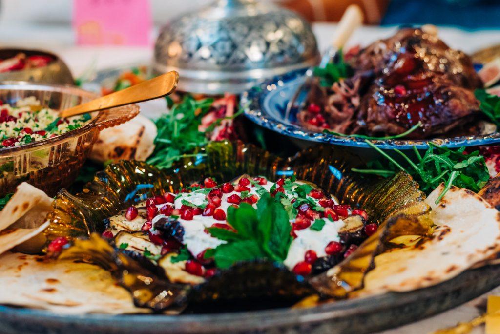 Moroccan wedding feast