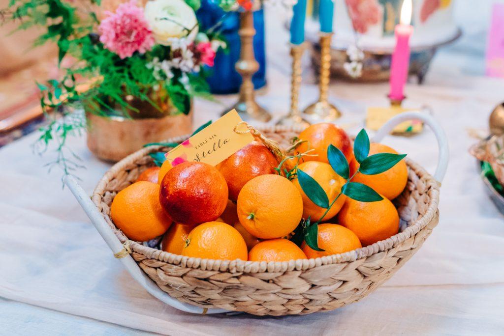 fresh wedding food