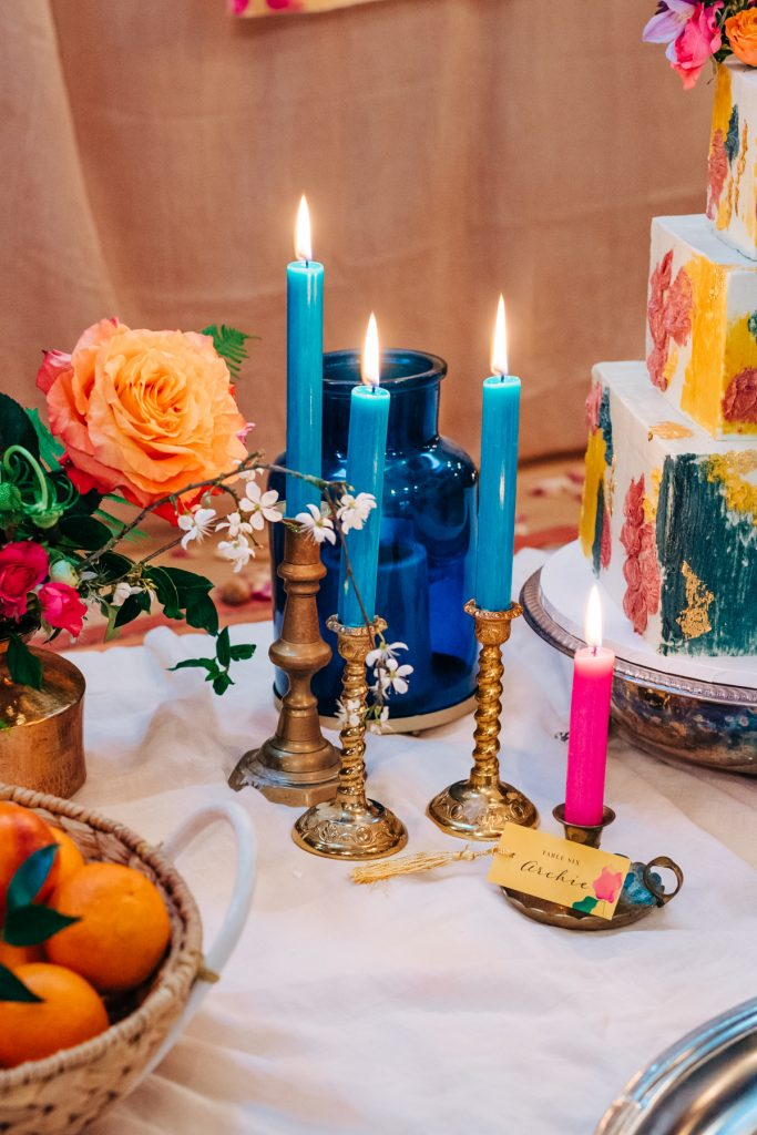 colourful wedding decorations