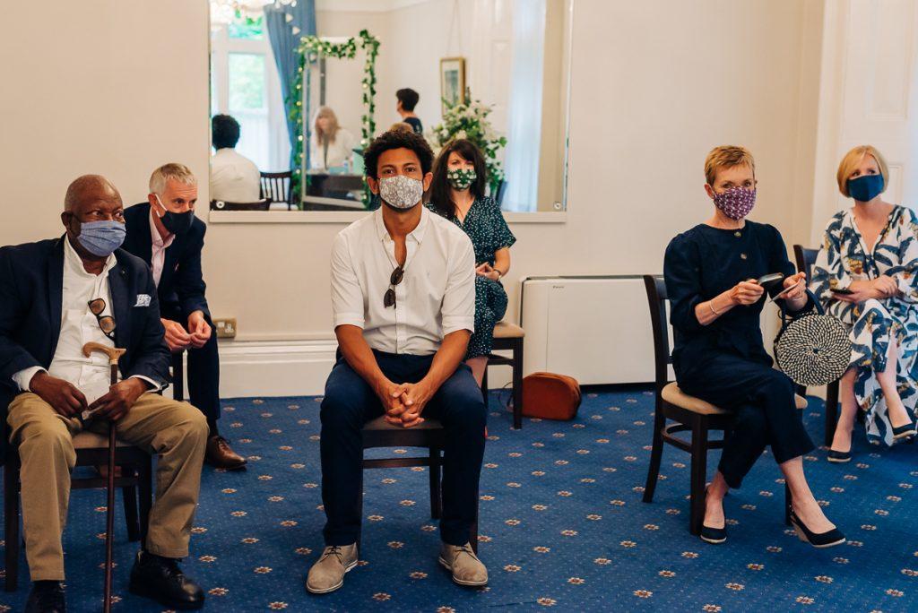 Lockdown wedding during coronavirus pandemic