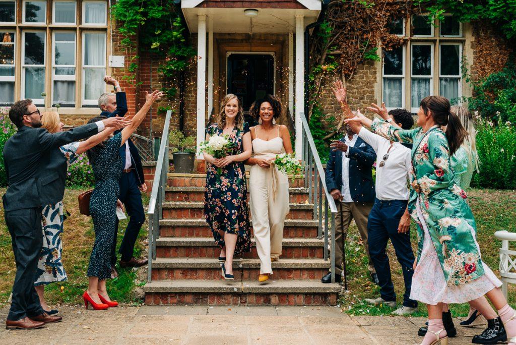 intimate lockdown wedding in Guildford