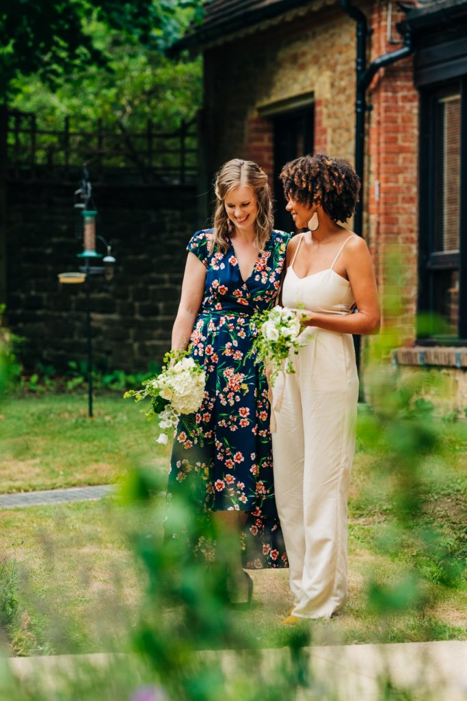 intimate wedding in Guildford